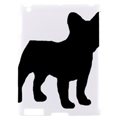 French Bulldog Silo Black Ls Apple iPad 2 Hardshell Case (Compatible with Smart Cover)