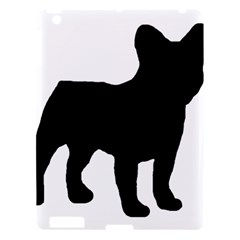 French Bulldog Silo Black Ls Apple iPad 3/4 Hardshell Case