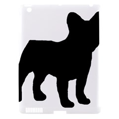 French Bulldog Silo Black Ls Apple iPad 3/4 Hardshell Case (Compatible with Smart Cover)
