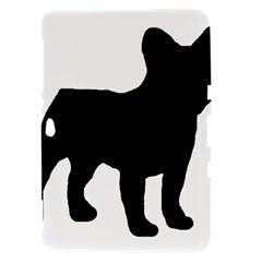 French Bulldog Silo Black Ls Samsung Galaxy Tab 8.9  P7300 Hardshell Case