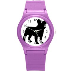 French Bulldog Silo Black Ls Plastic Sport Watch (Small)