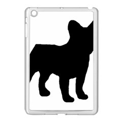French Bulldog Silo Black Ls Apple iPad Mini Case (White)