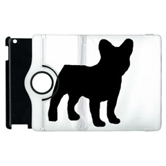 French Bulldog Silo Black Ls Apple iPad 2 Flip 360 Case