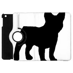 French Bulldog Silo Black Ls Apple iPad Mini Flip 360 Case