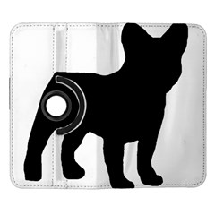 French Bulldog Silo Black Ls Samsung Galaxy Note II Flip 360 Case