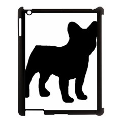 French Bulldog Silo Black Ls Apple iPad 3/4 Case (Black)