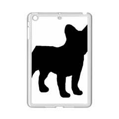 French Bulldog Silo Black Ls Apple iPad Mini 2 Case (White)