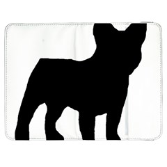 French Bulldog Silo Black Ls Samsung Galaxy Tab 7  P1000 Flip Case