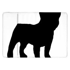 French Bulldog Silo Black Ls Samsung Galaxy Tab 8.9  P7300 Flip Case