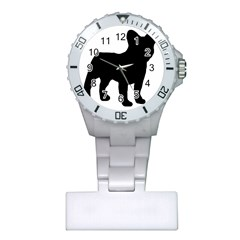 French Bulldog Silo Black Ls Nurses Watch