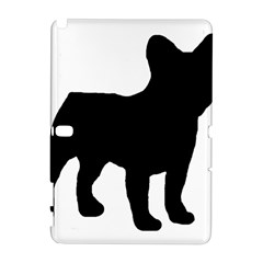 French Bulldog Silo Black Ls Samsung Galaxy Note 10.1 (P600) Hardshell Case