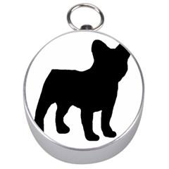 French Bulldog Silo Black Ls Silver Compass