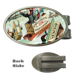 Clear The Track Money Clip (Oval)