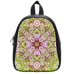 Crazy Abstract Pattern School Bag (small)