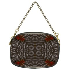 Zebra Abstract Chain Purse (one Side)