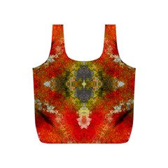 Bright Jello Abstract  Reusable Bag (S)