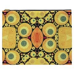 Bright Abstract Art N Cosmetic Bag (XXXL)