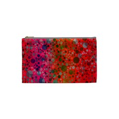 Florescent Abstract  Cosmetic Bag (small)