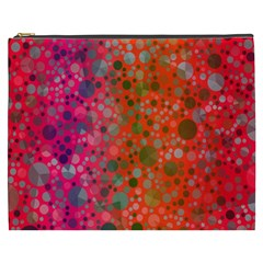 Florescent Abstract  Cosmetic Bag (xxxl)