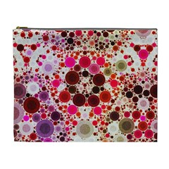 Skittlle Abstract Cosmetic Bag (xl)