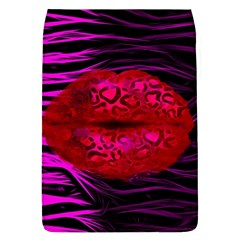 Sassy Lips Cheetah Removable Flap Cover (large)