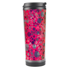 Florescent Abstract  Travel Tumbler