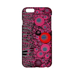 Pink Zebra Abstract Apple iPhone 6 Hardshell Case