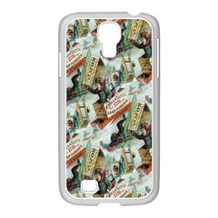 Clear The Track Samsung GALAXY S4 I9500/ I9505 Case (White)
