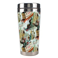 Clear The Track Stainless Steel Travel Tumbler