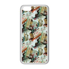Clear The Track Apple iPhone 5C Seamless Case (White)