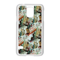 Clear The Track Samsung Galaxy S5 Case (White)