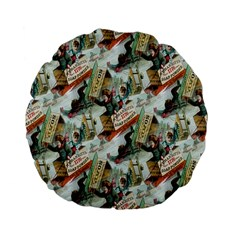 Clear The Track Standard Flano Round Cushion