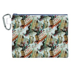 Clear The Track Canvas Cosmetic Bag (XXL)