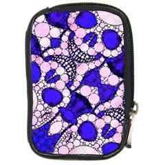 Skull Bling  Compact Camera Leather Case