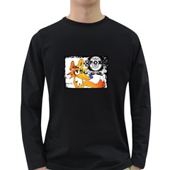 FOX Men s Long Sleeve T-shirt (Dark Colored)