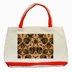 Chocolate Kisses Classic Tote Bag (red)