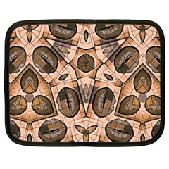 Chocolate Kisses Netbook Sleeve (large)