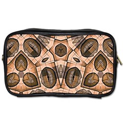 Chocolate Kisses Travel Toiletry Bag (two Sides)