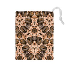 Chocolate Kisses Drawstring Pouch (Large)