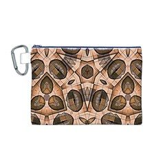 Chocolate Kisses Canvas Cosmetic Bag (Medium)