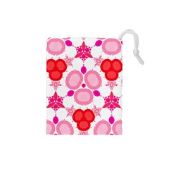 Strawberry Shortcakee Drawstring Pouch (Small)