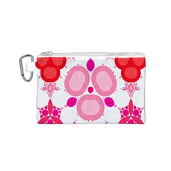 Strawberry Shortcakee Canvas Cosmetic Bag (small)