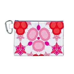 Strawberry Shortcakee Canvas Cosmetic Bag (medium)