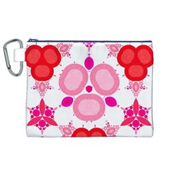 Strawberry Shortcakee Canvas Cosmetic Bag (XL)
