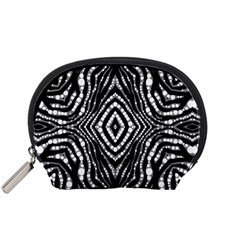 Zebra Twists  Accessory Pouch (Small)