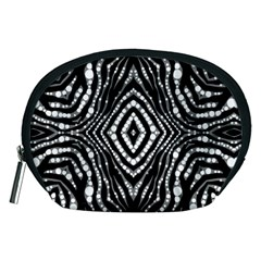 Zebra Twists  Accessory Pouch (Medium)