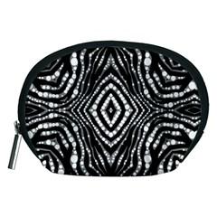 Zebra Twists  Accessory Pouch (medium)