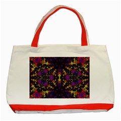 Color Bursts  Classic Tote Bag (Red)