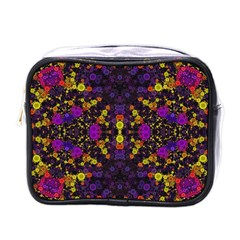 Color Bursts  Mini Travel Toiletry Bag (one Side)