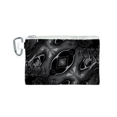 Melted Liquorish  Canvas Cosmetic Bag (Small)